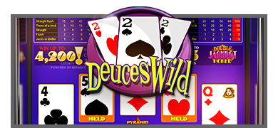 Pyramid Poker: Deuces Wild