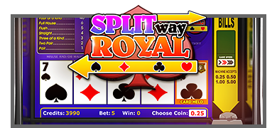 Split Way Royal Video Poker